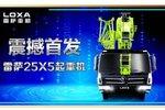 雷萨25X5起重机北京车展震撼首发!