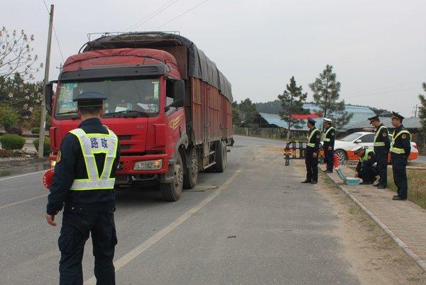 上海整治货车部分区域装动态监控系统