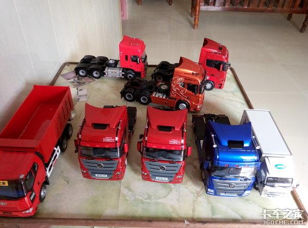 我爱卡巴_自己制作挂车模型,这是我爱卡车的方式