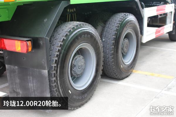 装潍柴430马力燃气机新J6P渣土车图解