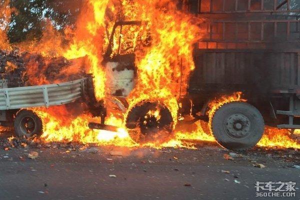 """冷藏车自燃该如何处理这颗""""定时炸弹"""""""