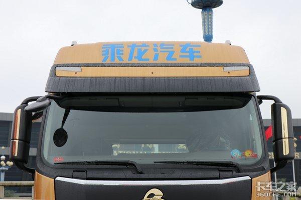 搭载600马力www.js77888.com机图解乘龙H72019款