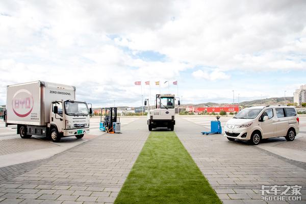 再推硬核产品BYD纯电动卡车欧洲首秀