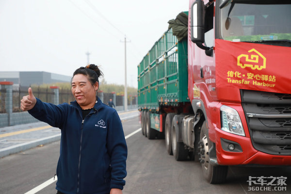 最美货车司机宋玉兰:谁说女子不如男?