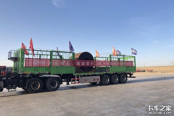 青藏线上的卡车人和'天路'一样得称颂
