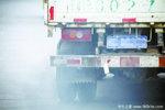 罗江区:抽捡重型柴油货车尾气排放工作