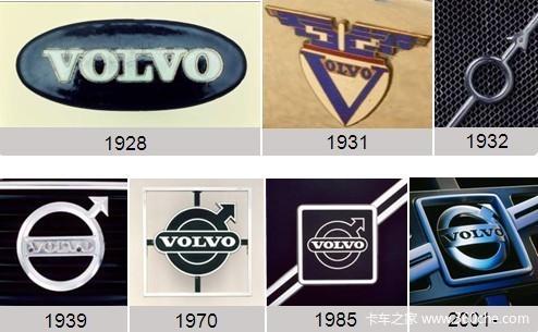 盘点世界著名卡车车标起源你认识几个