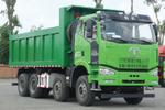 新J6P 8×4短轴距渣土车 城市运输新趋势