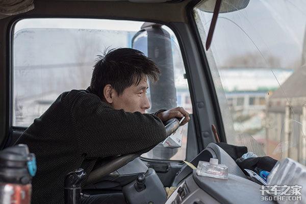"""卡车司机的字典里从来没有""""休息""""二字"""