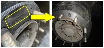 自卸车踩刹车制动时车辆发抖故障分析