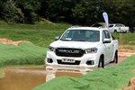 动力充沛舒适性好 试驾大通www.js77888.com皮卡T70