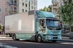 拒绝排放污染 沃尔沃电动卡车来了