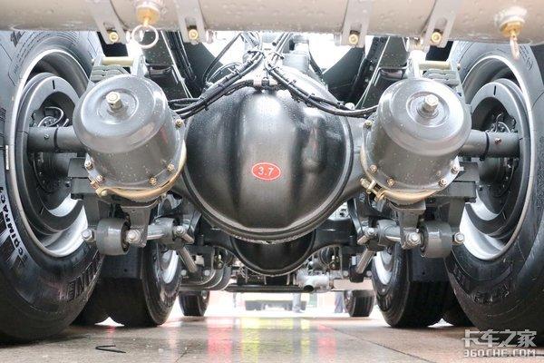 自重仅7.9吨重汽豪沃TX7是我想要的车