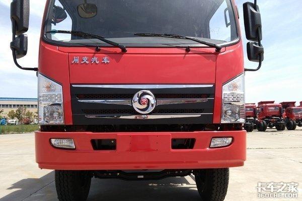 川交4X2自卸车11.98万元设置装备摆设却纷歧般