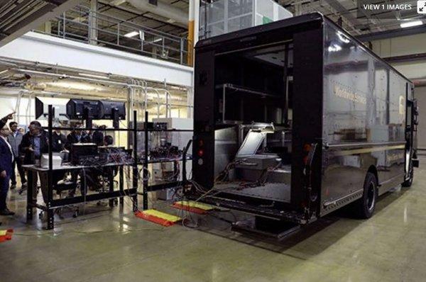 3小时内完成充电 UPS测试无线充电卡车