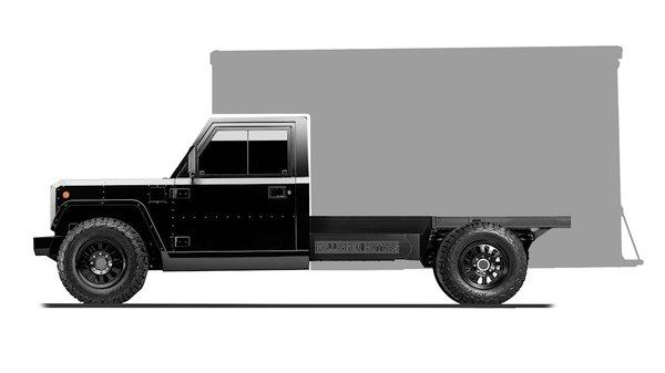 进军商用界Bollinger公布电动卡车底盘