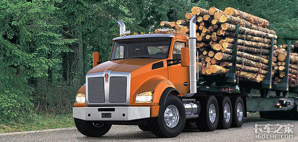 续航362公里Kenworth发布电动卡车