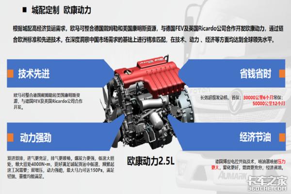 欧马可S1超级轻卡畅盈版临沂区域上市