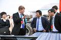 曼卡车与客车总裁尼尔森访问中国重汽