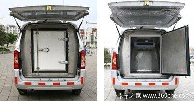 低温冷藏车领导者五菱荣光加长型客厢