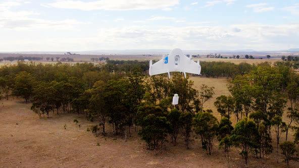 传统物流巨头看好亚马逊无人机可试飞