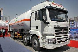 天然气展:陕汽新M3000 LNG运输车实拍