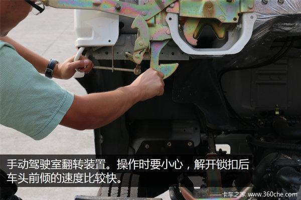 可上蓝牌东风多利卡危险品车广州实拍