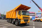 三轴转向的矿区萌兽 GINAF10X6自卸车