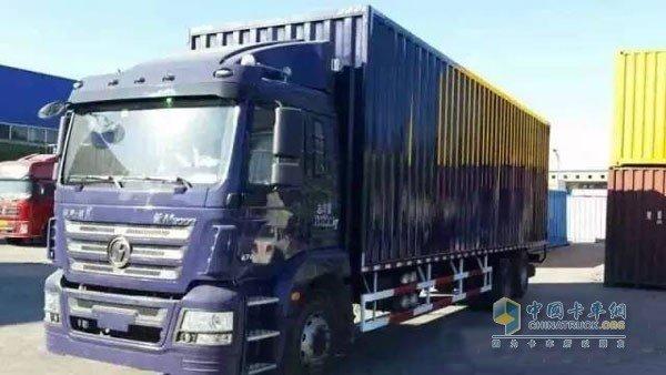 自动挡载货车有主了中国首台交付用户