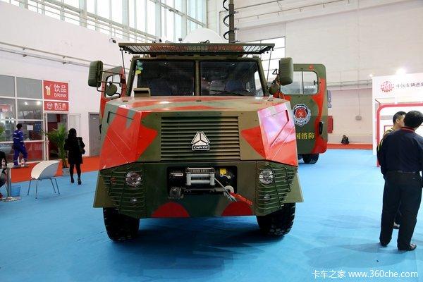 打仗也够用!消防车居然带4毫米厚装甲