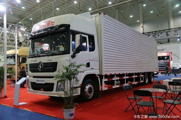 武汉车展:陕汽推出5气囊X3000快递厢车