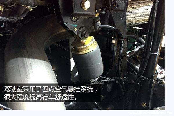 武汉车展:解放J6P北方版美丽但不冻人