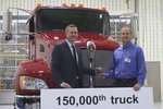 肯沃斯第15万台下线 应征入伍做消防车