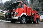 见过欧洲的重型清障车吗?抢险救援必备