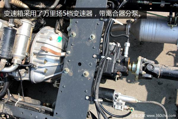 搭D28引擎配置升级凯普特E280全面上市