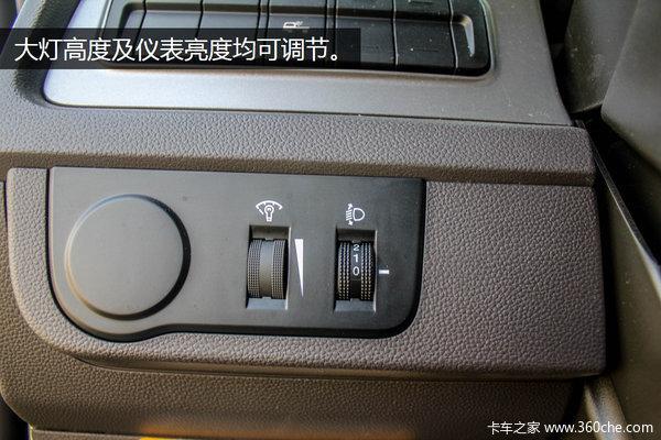 这车坐着真舒服!创虎高配驾驶室图解