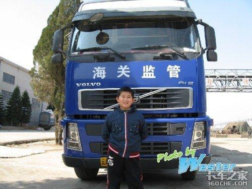 小朋友眼中的卡车生活