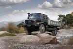 奔驰的战斗力 实拍奔驰Zetros军用卡车