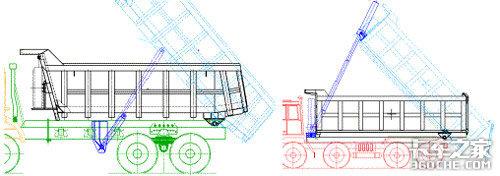 自卸车结构分类及选型