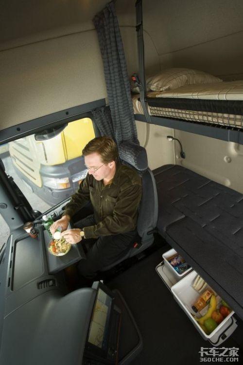 瑞典斯堪尼亚卡车内室