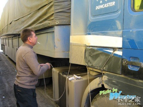 专访新疆国际运输车