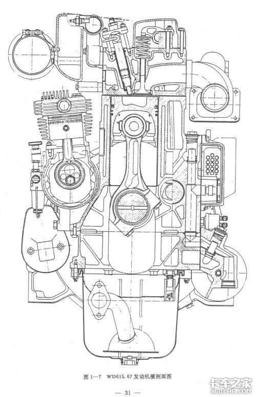 评斯太尔WD615发动机