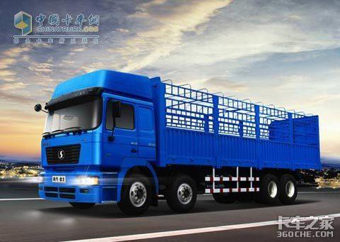 高调上市陕汽德龙推8×4加强型载货车