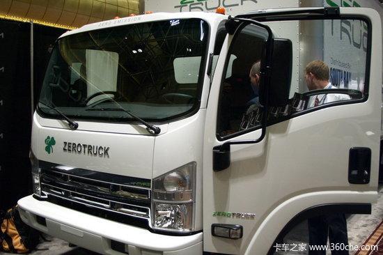 美国诞生锂电池卡车