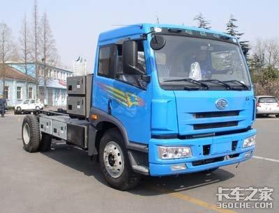 福田/解放发力新能源市场电动卡车曝光