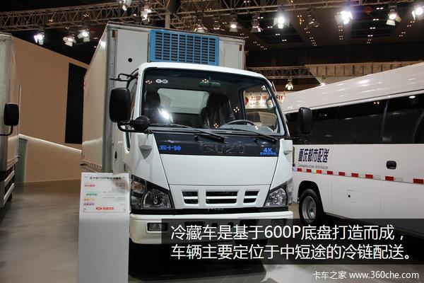 欲抢占冷链市场600P冷藏车配进口机组