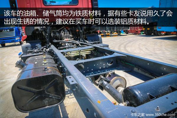 6米8货厢180马力 深圳实拍格尔发K3中卡
