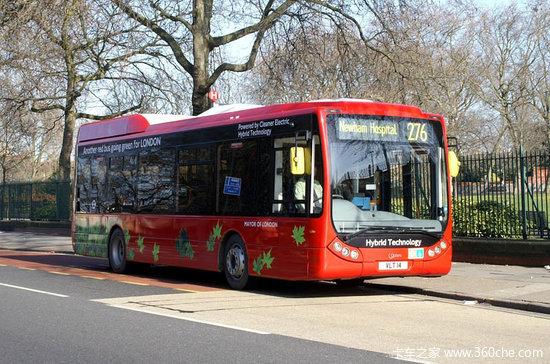 英政府采购低排放巴士