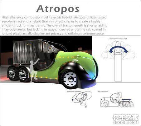 第一台环保电力卡车