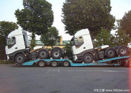 中国重卡'零公里'运输